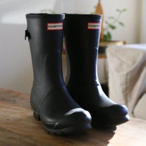 HUNTER Original Short Insulated Rain Boots Size 7